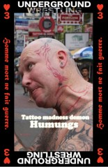 Tattoo madness demon Humungs